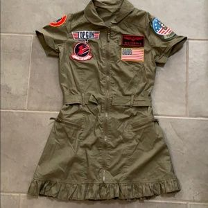Top Gun Military dress costume size XS-S